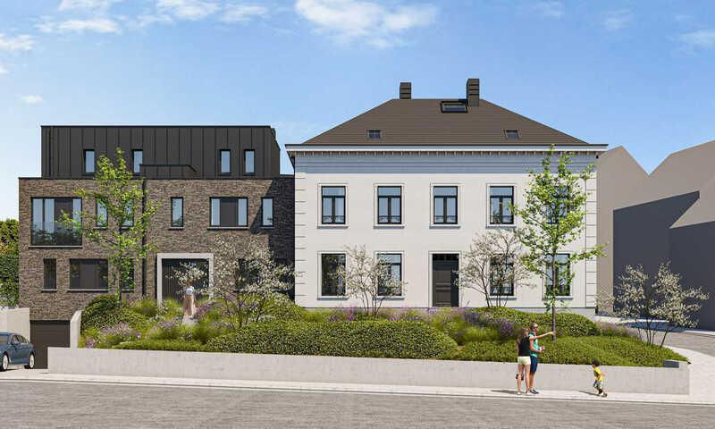 Schepdaal - Ninoofsesteenweg - Residentie Newton